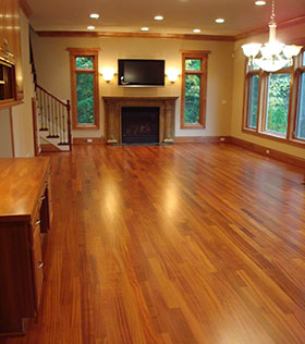 Clyde Hill Hardwood Floor Installation
