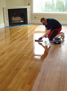 Clyde Hill Hardwood Floor Refinishing