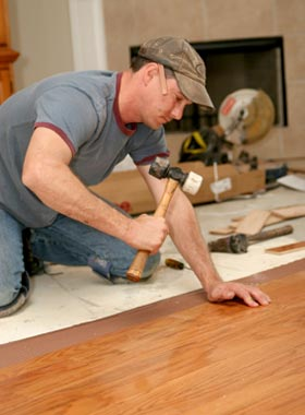 Clyde Hill Hardwood Floor Repair