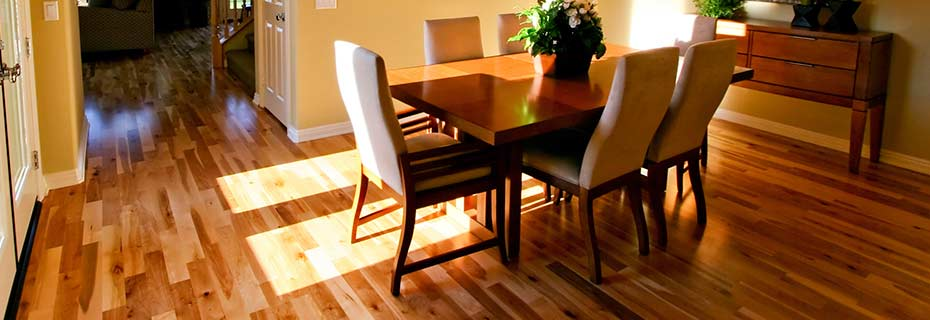 Classic Hardwood Floors classic wood floors project gallery Lustrous Hardwood Floor In A Family Dining Room