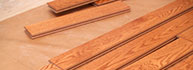 Hardwood boards for installation