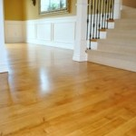 Refinished Maple Floor - Bothell, WA