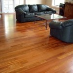 Refinished Brazilian Cherry Hardwood Floor - Bellevue, WA