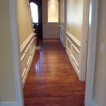 Maple Hardwood Floor, Custom Stain - Bellevue, WA