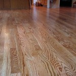 Red Oak Hardwood Floor, Stained - Bothell, WA