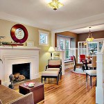 Refinished Fir Floor - Greenlake neighborhood of Seattle