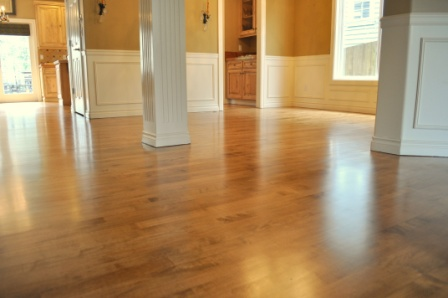 Stained Maple Hardwood Floors in Bothell - Classic Hardwood Floors