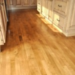 Stained Maple Hardwood Floors in Bothell